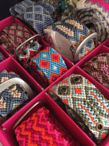 Smitten, handmade belts